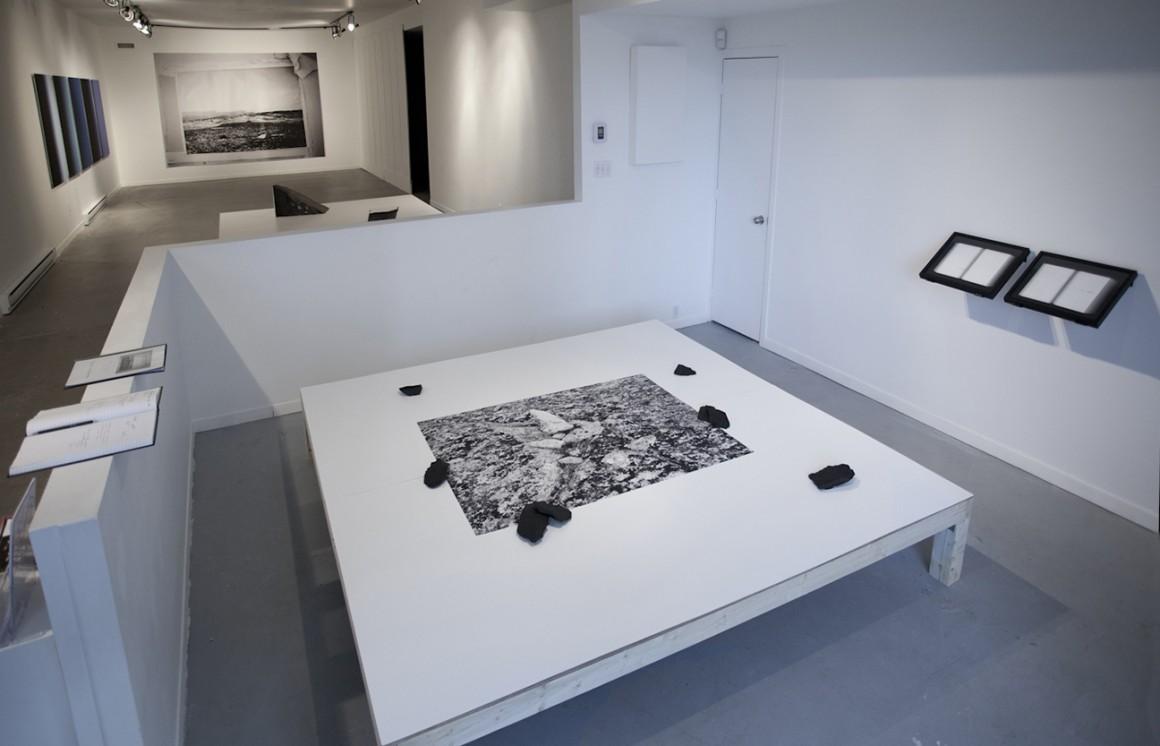 Annie Charland Thibodeau , Martin Désilets , Laurent Lévesque et Anne-Marie Proulx, exposition Les grands espaces,    11 novembre au 18 décembre 2016.